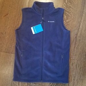Columbia fleece vest Youth L